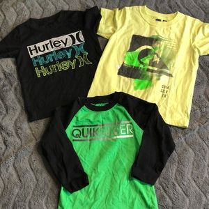 Set of 3- boys short sleeve